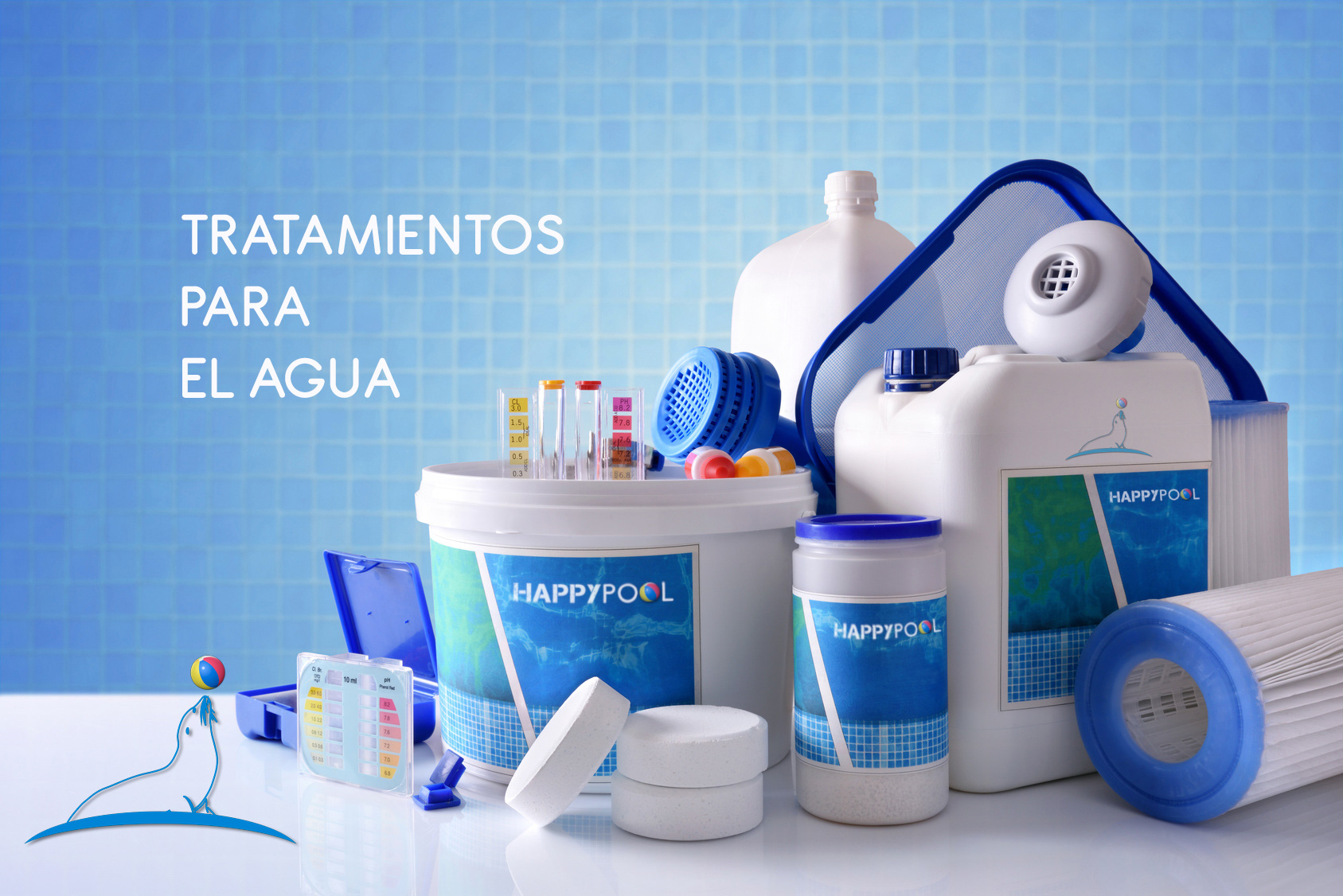 productos para piscina happypool